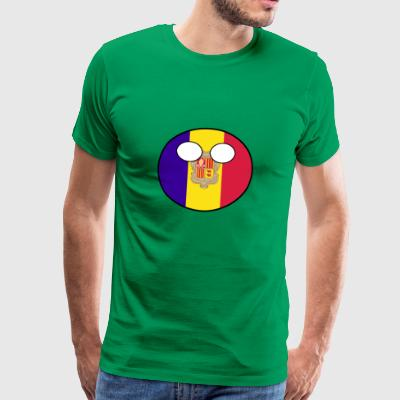 Countryball Country Ball Country Home Andorra - Men's Premium T-Shirt