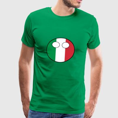 Countryball Country Home Italy - Men's Premium T-Shirt