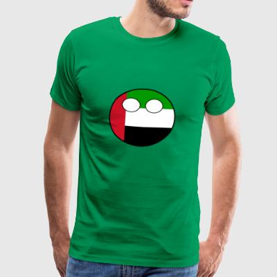 Countryball Country United Arab Emirates - Men's Premium T-Shirt