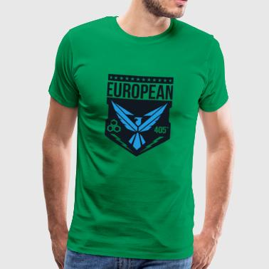 European 405th logo no white - Men's Premium T-Shirt