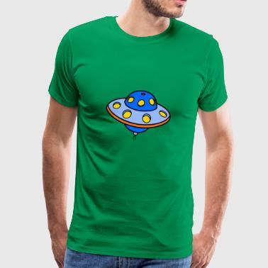 UFO blue - Men's Premium T-Shirt