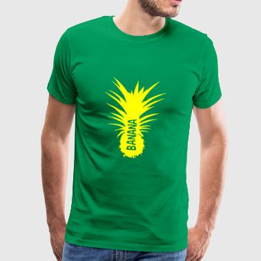 Bananas Pineapple yellow cut - Men's Premium T-Shirt