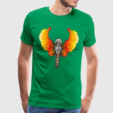 The winged knight - Men's Premium T-Shirt