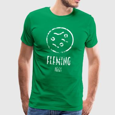 Alexander Fleming | Famous people - Men's Premium T-Shirt