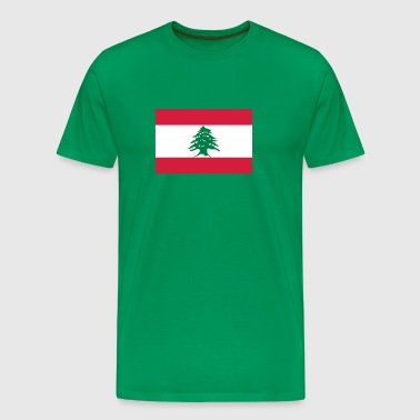 Drapeau national du Liban - T-shirt Premium Homme