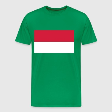 indonesia flag - Mannen Premium T-shirt