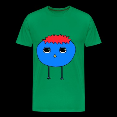 Punky Birdy Red - Men's Premium T-Shirt