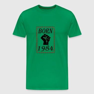 born 1984 - Men's Premium T-Shirt