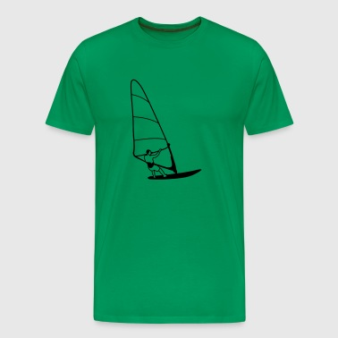 windsurfer - Premium T-skjorte for menn