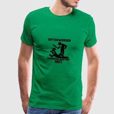 Entenwerder Summer Camp 2017 - Herre premium T-shirt