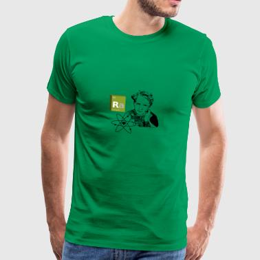 Marie Curie - radium - Men's Premium T-Shirt