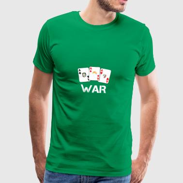 WAR / War - Premium T-skjorte for menn