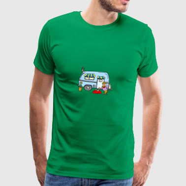 Camping Rving Welcome Home - Men's Premium T-Shirt