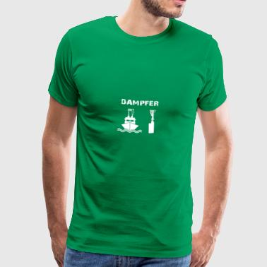 steam - Premium-T-shirt herr