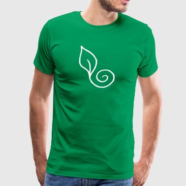 Leaf spiral - Men's Premium T-Shirt