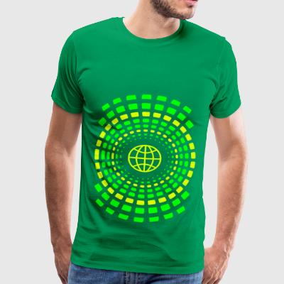 rings of earth - Men's Premium T-Shirt