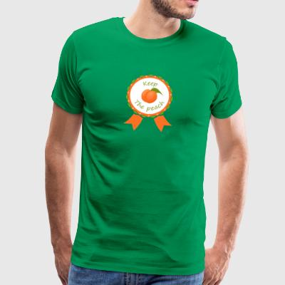 Award Keep the peach - Men's Premium T-Shirt