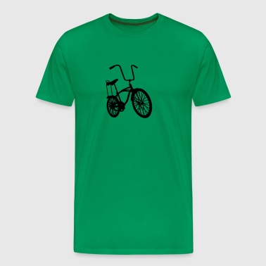 old school retro bike - Men's Premium T-Shirt