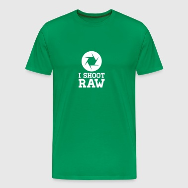 I Shoot RAW - Photography - Men's Premium T-Shirt