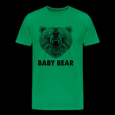 Cool Baby Bear Wild Grizzly Bear Funny Gifts - Mannen Premium T-shirt