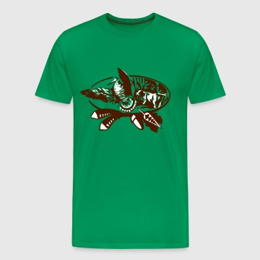 felpa woodcock brown - Men's Premium T-Shirt