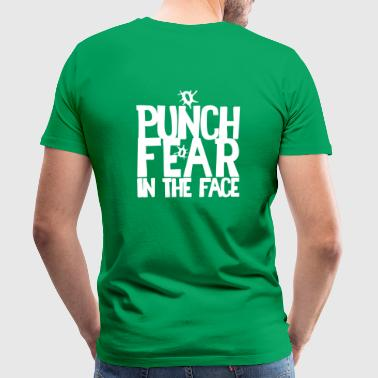 PUNCH FEAR in the face - Men's Premium T-Shirt
