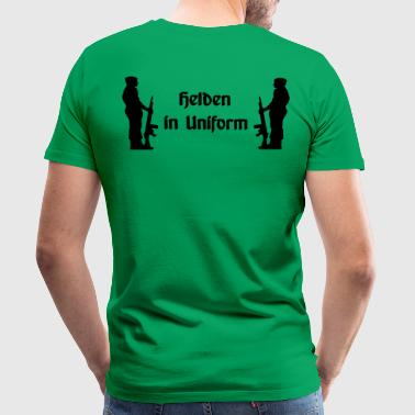 Heroes in Uniform - Mannen Premium T-shirt