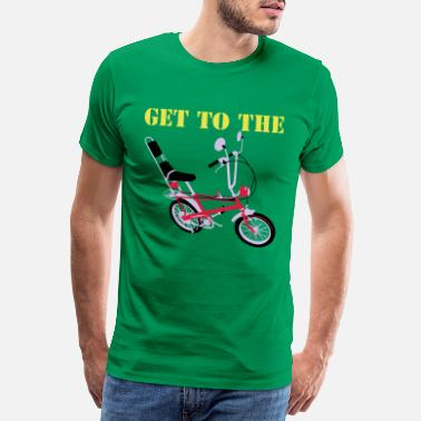Chopper Get to the chopper - Men's Premium T-Shirt