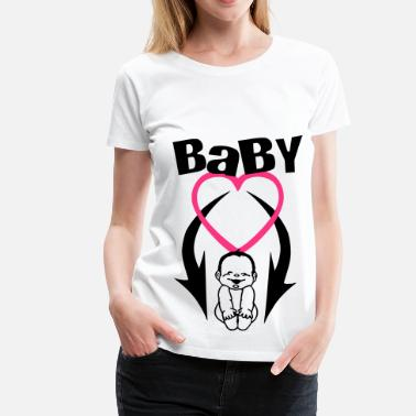 Baby On Board baby on board 2 (2c) - Frauen Premium T-Shirt