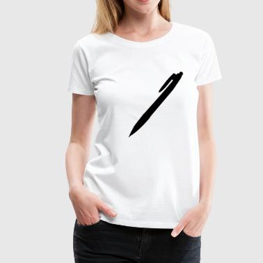Stift - Kuli - Frauen Premium T-Shirt