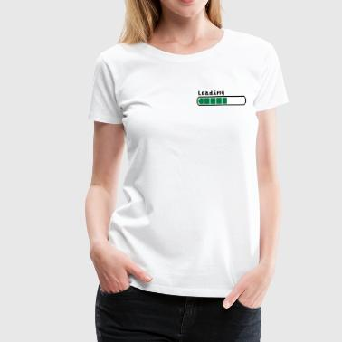 Loading - Women's Premium T-Shirt