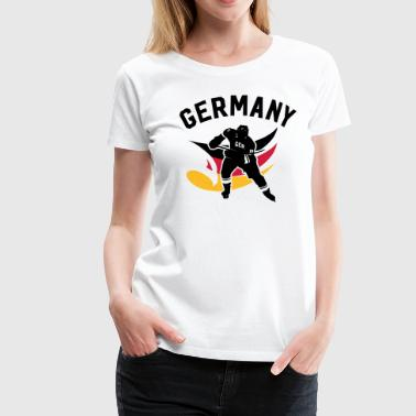 GERMANY EISHOCKEY - Frauen Premium T-Shirt