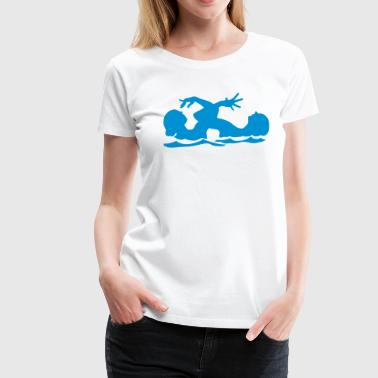 synchronized swimming - Women's Premium T-Shirt