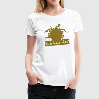 bad hair day 2 - Frauen Premium T-Shirt