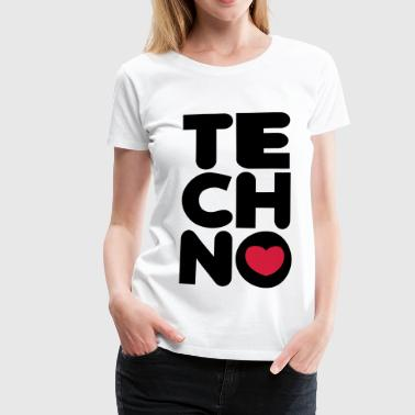 Techno Tower - Vrouwen Premium T-shirt