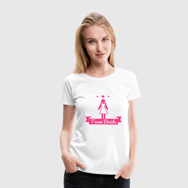 Team bride - hen party - Women's Premium T-Shirt