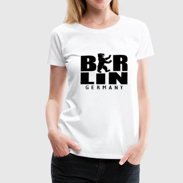 Berlin Germany Kult Wappen - Frauen Premium T-Shirt
