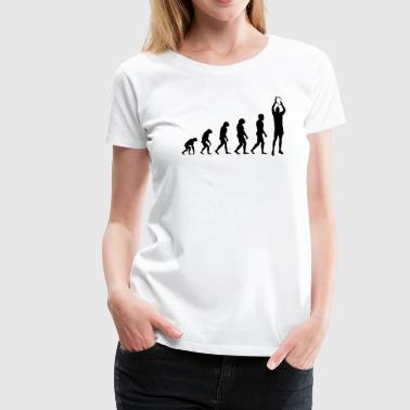 Evolution Rugby - Win - Women's Premium T-Shirt