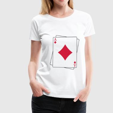 Ace of Caro - Frauen Premium T-Shirt
