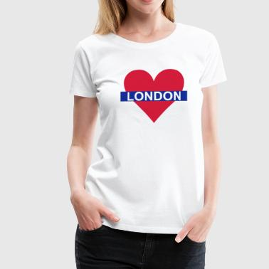 Love London - Underground - Premium-T-shirt dam