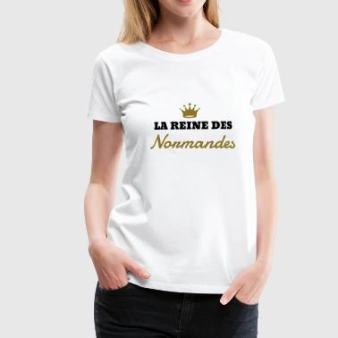 Normandie / Normand / Normande / France - Dame premium T-shirt