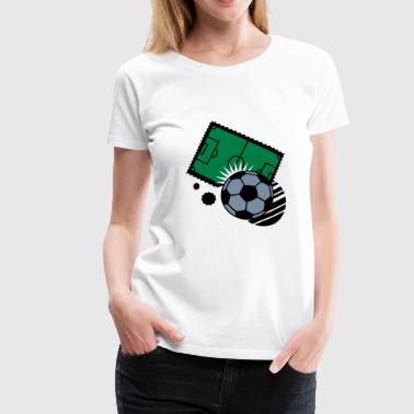 playing field - Women's Premium T-Shirt