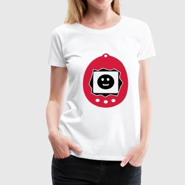 virtual pet animal  - Frauen Premium T-Shirt
