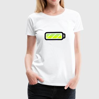 battery - Frauen Premium T-Shirt
