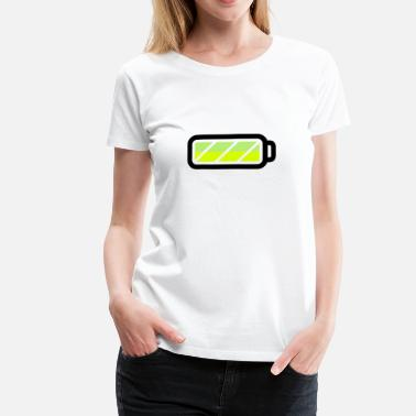 Battery battery - Women's Premium T-Shirt