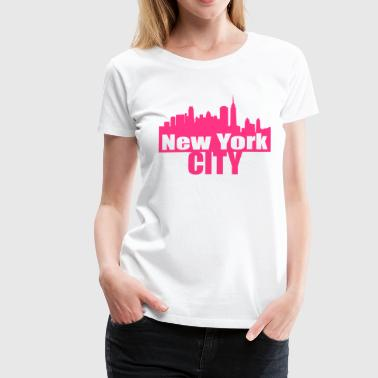 nyc NEW YORK CITY - T-shirt Premium Femme