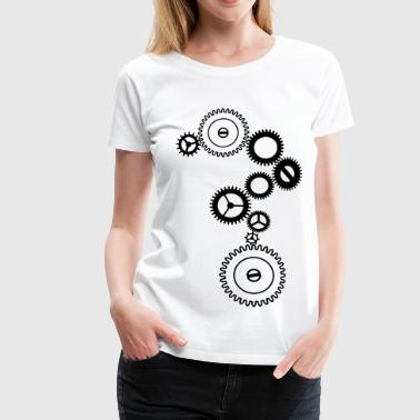 Mechanismus - Frauen Premium T-Shirt