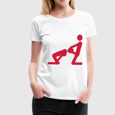 Blow Job - Frauen Premium T-Shirt