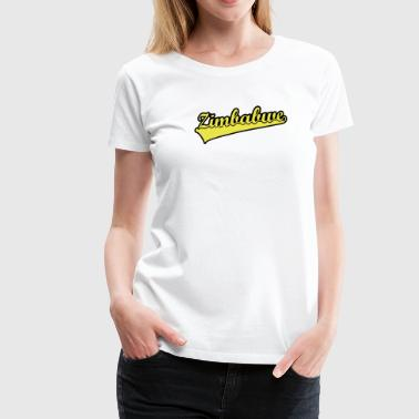 Zimbabwe Scroll - Women's Premium T-Shirt