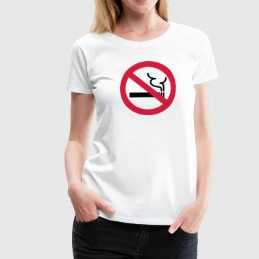 No Smoking - Premium T-skjorte for kvinner
